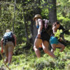 yoga fun holiday mountain retreat hike alps france chamonix